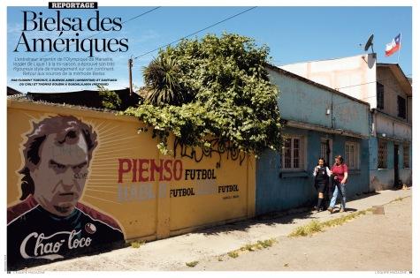 """L'Equipe Magazine - """"Bielsa des Amériques"""""""