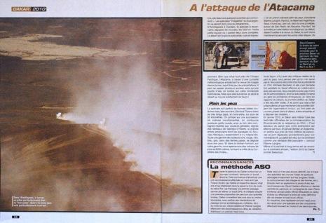 Dakar - A l'attaque de l'Atacama