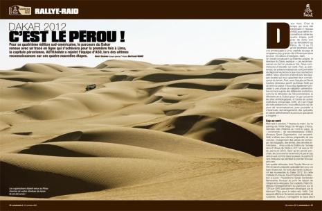 Rallye Dakar - C'est le Pérou!