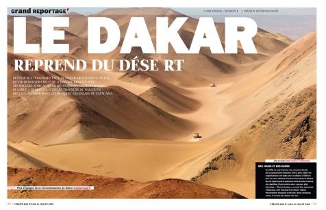 Le Dakar reprend du desert 1